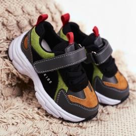 Sportowe Buty Dziecięce Czarne ABCKIDS B932104063 1