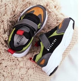 Sportowe Buty Dziecięce Czarne ABCKIDS B932104063 2