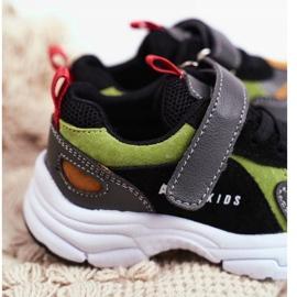Sportowe Buty Dziecięce Czarne ABCKIDS B932104063 3
