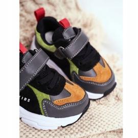 Sportowe Buty Dziecięce Czarne ABCKIDS B932104063 4
