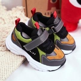 Sportowe Buty Dziecięce Czarne ABCKIDS B932104063 5