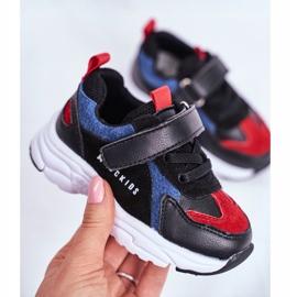 ABCKIDS POLAND Sp. z o.o. Sportowe Buty Dziecięce Czarno Granatowe Abckids B932104063 czarne 2