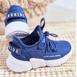 ABCKIDS POLAND Sp. z o.o. Sportowe Buty Dziecięce Młodzieżowe Granatowe Abckids B012210073 3
