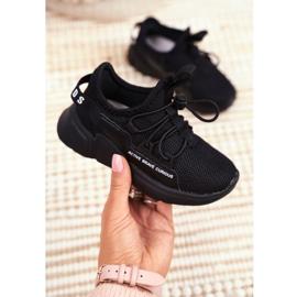 ABCKIDS POLAND Sp. z o.o. Sportowe Buty Dziecięce Młodzieżowe Czarne Abckids B012210073 5
