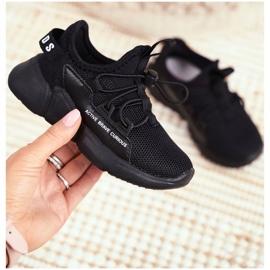 ABCKIDS POLAND Sp. z o.o. Sportowe Buty Dziecięce Młodzieżowe Czarne Abckids B012210073 3