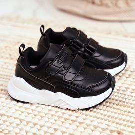 ABCKIDS POLAND Sp. z o.o. Sportowe Buty Dziecięce Młodzieżowe Czarne Abckids B013310212 1