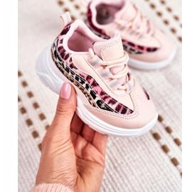 FRROCK Sportowe Buty Dziecięce Różowe Dante 1