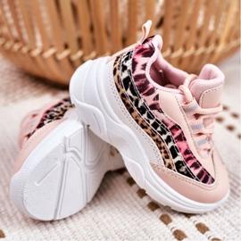 FRROCK Sportowe Buty Dziecięce Różowe Dante 3