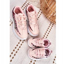 FRROCK Sportowe Buty Dziecięce Różowe Dante 5