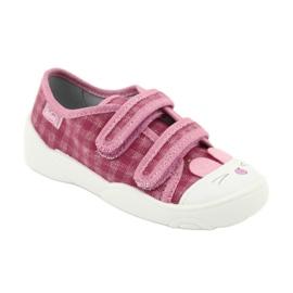 Befado obuwie dziecięce  907P109 różowe 4