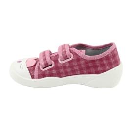 Befado obuwie dziecięce  907P109 różowe 5