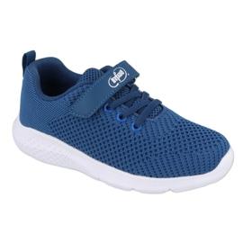 Befado obuwie dziecięce 516y047 niebieskie 1