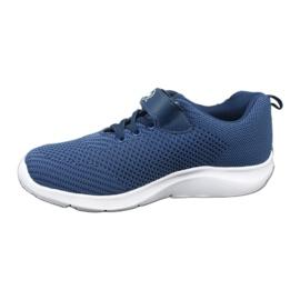 Befado obuwie dziecięce 516y047 niebieskie 2