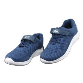 Befado obuwie dziecięce 516y047 niebieskie 3