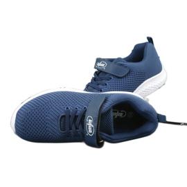 Befado obuwie dziecięce 516y047 niebieskie 4