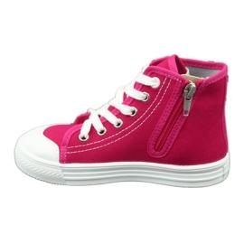 Befado obuwie dziecięce 438X012 różowe 2