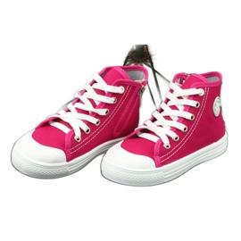 Befado obuwie dziecięce 438X012 różowe 3