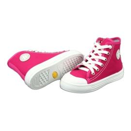 Befado obuwie dziecięce 438X012 różowe 5