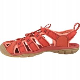Sandały Keen Wm's Clearwater Cnx W 1022963 czerwone 1