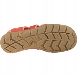 Sandały Keen Wm's Clearwater Cnx W 1022963 czerwone 3