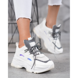 Small Swan Sportowe Sneakersy białe 2