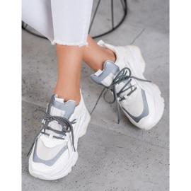 Small Swan Sportowe Sneakersy białe 3