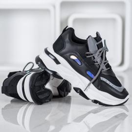 Small Swan Sportowe Sneakersy czarne 3