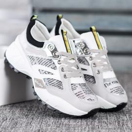 Buty Sportowe MCKEYLOR białe szare 3