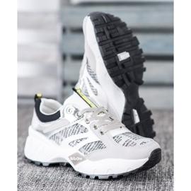Buty Sportowe MCKEYLOR białe szare 1