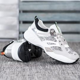 Buty Sportowe MCKEYLOR białe szare 2