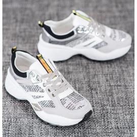 Buty Sportowe MCKEYLOR białe szare 4