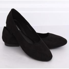 Miękkie baleriny damskie czarne NK17P Black 4