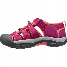 Sandały Keen Newport H2 Jr 1014267 różowe 1