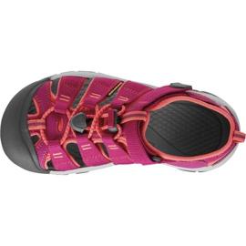 Sandały Keen Newport H2 Jr 1014267 różowe 2