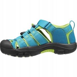 Sandały Keen Newport H2 Jr 1012294 niebieskie 1