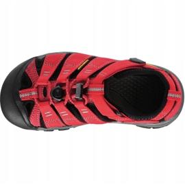 Sandały Keen Newport H2 Jr 1012318 czerwone 2