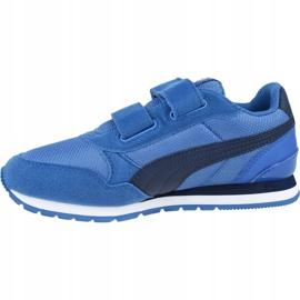 Buty Puma St Runner V2 Mesh Ps Jr 367136 07 niebieskie 1