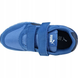 Buty Puma St Runner V2 Mesh Ps Jr 367136 07 niebieskie 2