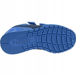 Buty Puma St Runner V2 Mesh Ps Jr 367136 07 niebieskie 3