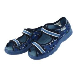 Befado obuwie dziecięce  969X141 granatowe niebieskie 3