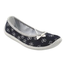 Befado obuwie dziecięce  980Y097 czarne szare 2