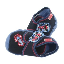 Befado obuwie dziecięce 523P011 granatowe 6