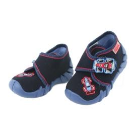 Befado obuwie dziecięce 523P011 granatowe 4