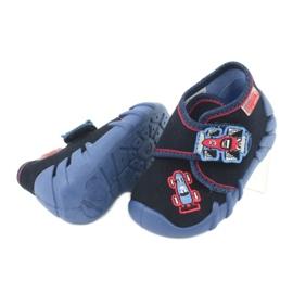Befado obuwie dziecięce 523P011 granatowe 5