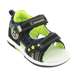 Sandałki osiem American Club DR14/20 czarne niebieskie szare zielone 1