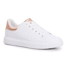 SEA Sportowe Damskie Buty Białe z Zapiętkiem Champagne Milly różowe 5
