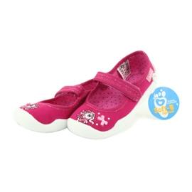 Befado obuwie dziecięce 114X299 różowe 6