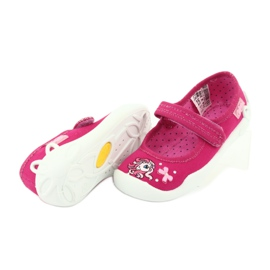 Befado obuwie dziecięce 114X299 różowe 4