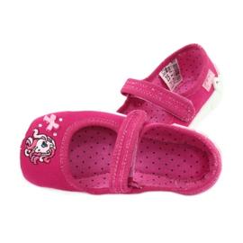 Befado obuwie dziecięce 114X299 różowe 5