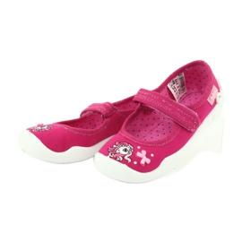Befado obuwie dziecięce 114X299 różowe 3